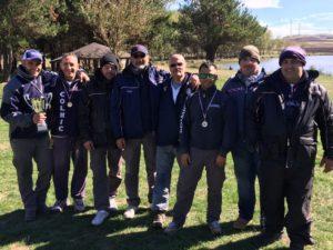 Il gruppo Fishing Club Pontecagnano colmic al regionale e promozionale