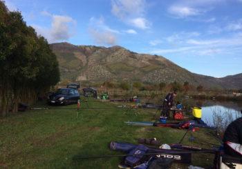 La gara di pesca alla carpa del 29 ottobre a S.Arsenio